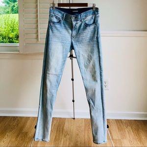 Express Stretch Light Wash Jeans Pants • Size 10R